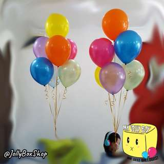 2 sets of Rainbow Balloons combination with Helium | Perfect for Birthday Party, Weddings, Proposals, Corporate Events