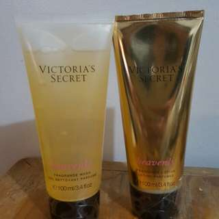 Lotion and Body Wash from VS 100ml each P350 each bundle for P700