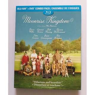 Moonrise Kingdom Blu Ray + DVD