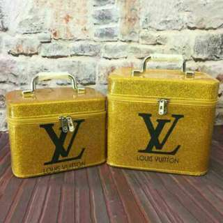LV  MAKE UP BOX 2 IN 1