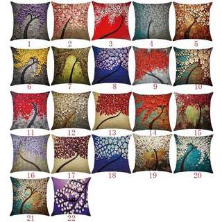 Throw Pillow Canvas Paint Case