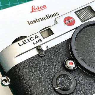 "Leica M6 ""Panda"" Rangefinder Film Camera"