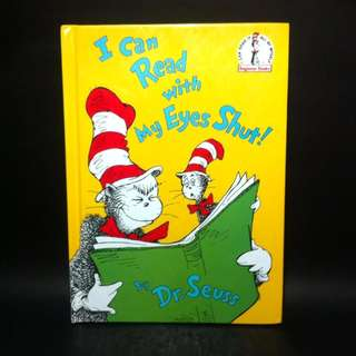 Dr. Seuss: I Can Read With My Eyes Shut