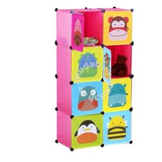 8 cubes skiphop diy wardrobes Almari Budak