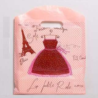 🆕Sweet Pink Packaging Bags / Shopping Carrier Bags / Plastic Bags / Fashion Bags