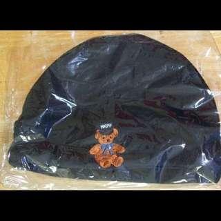 啤啤熊警察收藏品 抓毛頸巾及抓毛帽 (香港警察 HK POLICE FORCE HKPF 正版紀念品,全新)
