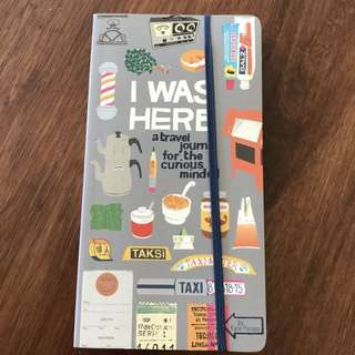 Free travel note book