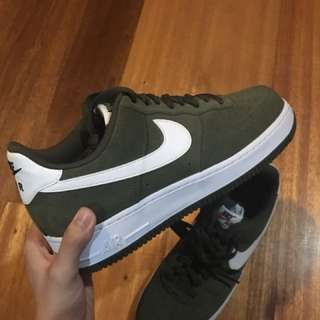 Air Force 1 Low Cut Olive Green