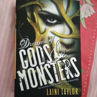 Dreams of Gods and Monsters Laini Taylor Hardcover