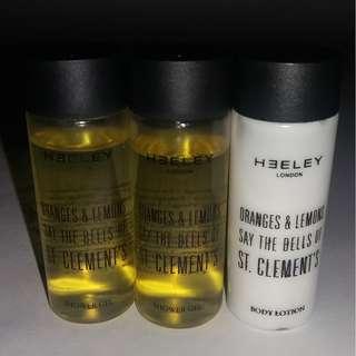 HEELEY London Shower Gel & Body Lotion - 40ml