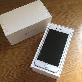 平放 iPhone 6 64GB 白銀色