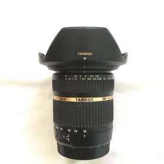 Tamron 10-24mm (Canon mount)