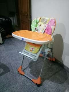 Chicco Polly Highchair Motif Dino Food