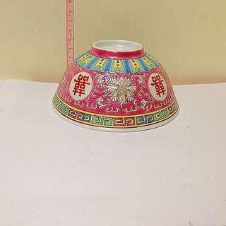 中國製造 囍瓷碗 收藏品 Chinese art
