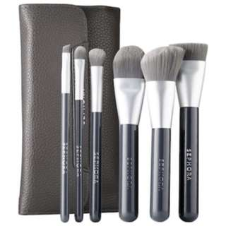 Deluxe Charcoal Antibacterial brush set - BRAND NEW