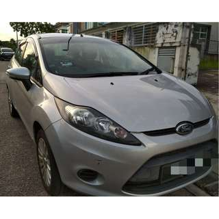 Ford Fiesta LX 1.6 Sedan Year 2012