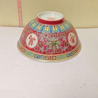 中國景德鎮 萬壽無疆 瓷碗 Chinese art