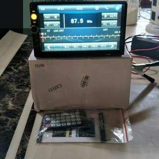 "Car Radio DVD Player HD 7"" 2Din In Dash Touch Screen"