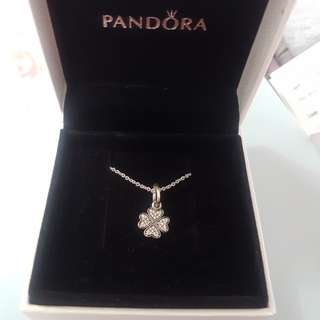 PANDORA Clover Necklace