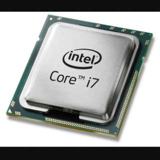 Intel i7 7700k processor (Hackintosh compatible)