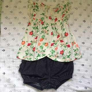 Old Navy Top & Shorts Set