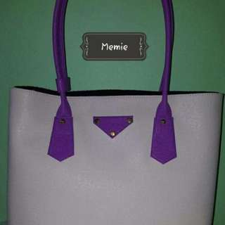 Memie Large handbag with inside pouch