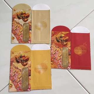 F&N red packet hong bao angpow set