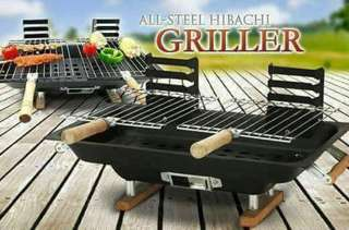 All steel hibachi griller
