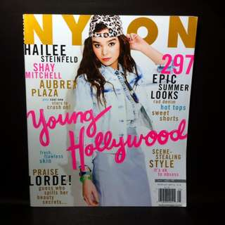 Hailee Steinfeld for NYLON Magazine