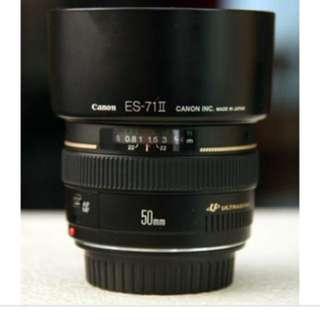 50mm f1.4 canon
