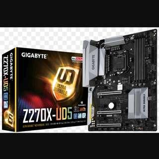Gigabyte Motherboard Z270X UD-5
