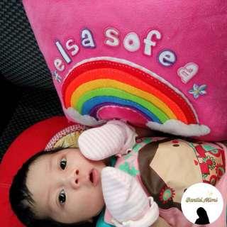 Handmade baby pillow