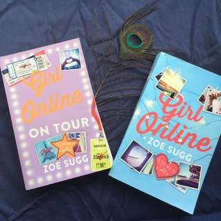 Girl online & Girl on tour - by Zoe Sugg ($7 for one)
