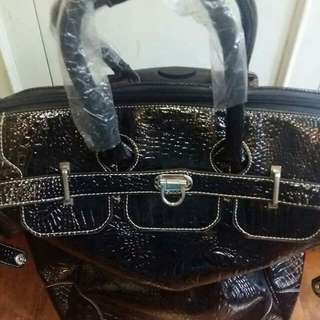 Chic Trollley Carry On Travel Luggage Bag