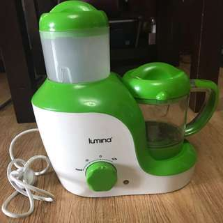 Lumina Baby Food Steamer & Blender