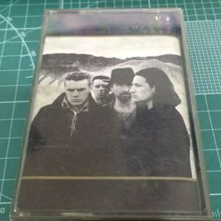 Effing old and mouldy U2 Joshua tree cassette tape