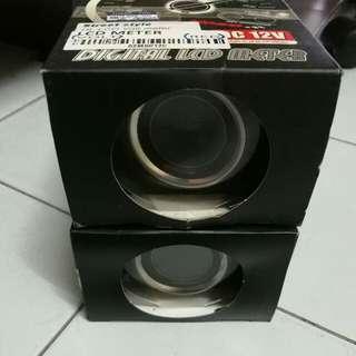 KOSO digital rpm + voltmeter