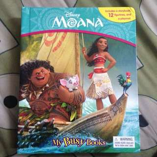 Disney Moana My Busy Book