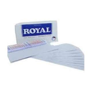 Amplop Putih Polos Merk Royal (Harga Rp.500,- per 1 lembar)