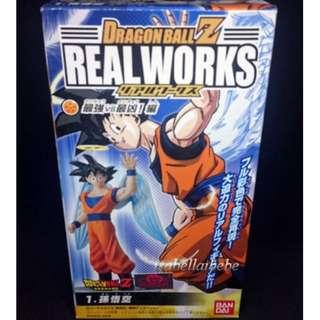 Bandai Dragon Ball Z Real Works Majin-Boo figure Son Gokou ANGEL VER. VERY RARE