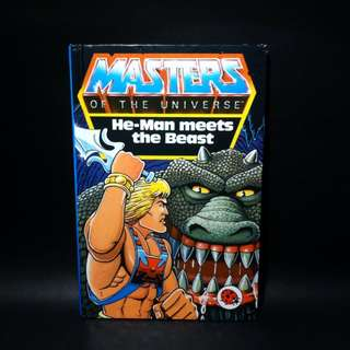 He-Man Masters of The Universe: He-Man Meets The Beast