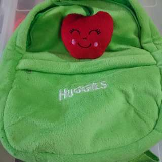 Huggies dinosaurs and backpack