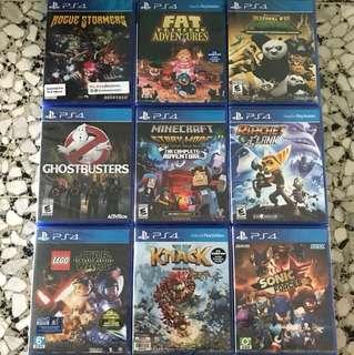 PS4 Games price drop
