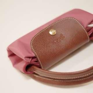 Longchamp 短把S 桃粉紅(牡丹粉) 短提把小包