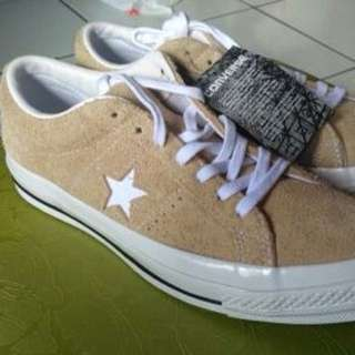 converse one star premium suede low