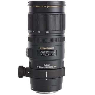 Sigma (CanonMount) 70-200mm f/2.8 EX DG OS HSM lens