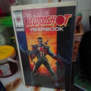 Bloodshot Yearbook #1 Valiant Comics 1994