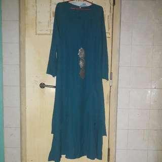 Green Teal Dress