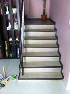 Staircase makeover renew