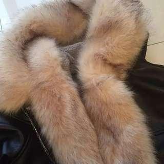 全新冬季仿皮毛毛外套
